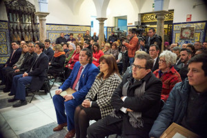 El acto se celebró en el Patio Noble del edificio consistorial ayamontino.