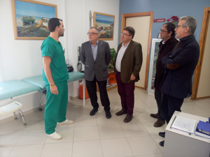 El delegado ha visitado la residencia de mayores de Trigueros.