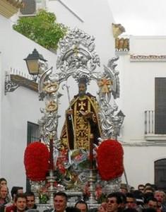 Imagen de la procesión de San Antonio Abad. / Foto: andalucia.org