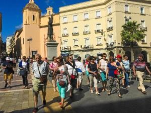 turistas Huelva