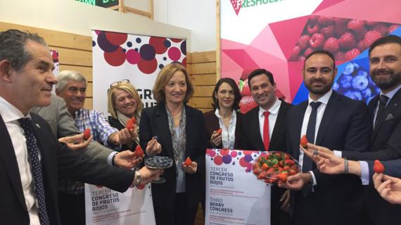 Huelva llega a Fruit Logistica como líder europea en producción de fresa, siendo el mayor exportador mundial de este fruto