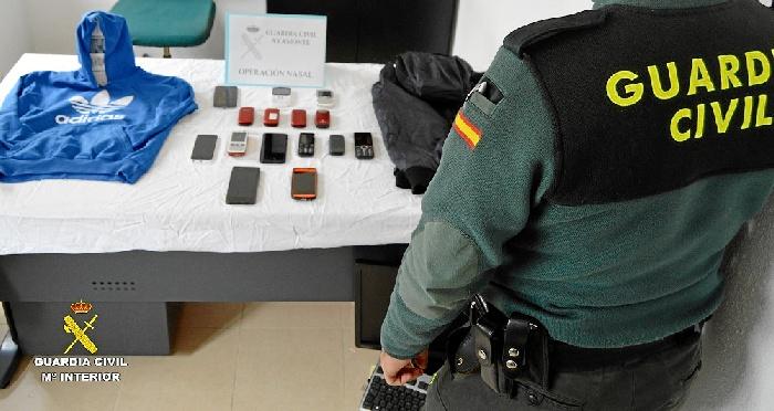 Detenido un varón por el robo varios bolsos mediante el procedimiento del tirón en la localidad de Ayamonte