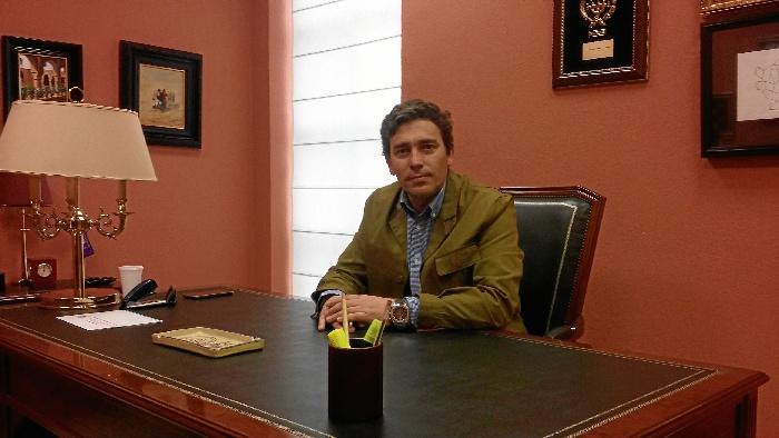 David Muñoz de la Villa, decano del Colegio Ingenieros Técnicos Industriales de Huelva.