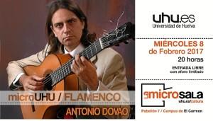 El concierto será este miércoles 8 de febrero, a partir de las 20.00 horas.