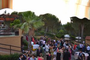 En el recinto se celebran bodas y otros eventos.