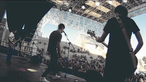 Cuatro jóvenes onubenses dan vida a MayBe, una banda de rock que ya ha pisado escenarios madrileños