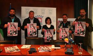Un momento de la presentación del cartel de la prueba ciclista que tendrá lugar en Cartaya el 4 de marzo.