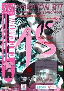 Cartel de la prueba ciclista que tendrá lugar en Cartaya la semana que viene.