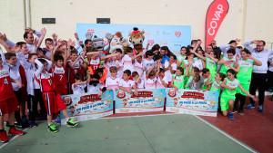 Niebla acogió una jornada lúdico-deportiva con la Copa Covap.