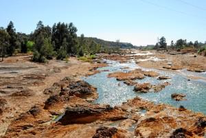 Los míticos ríos de Huelva crean paisajes únicos.
