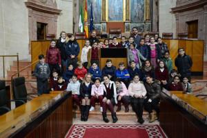 Los escolares han conocido el Parlamento.
