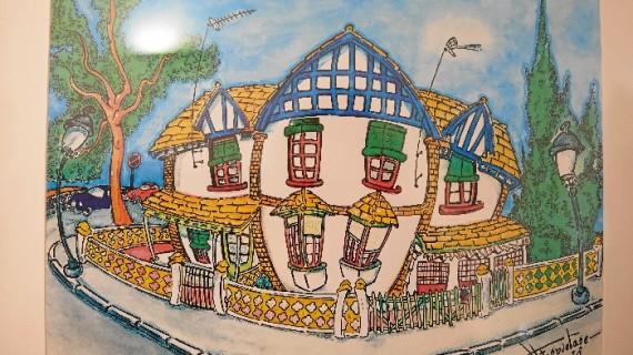 El artista onubense Andrés Espuelas expone 'Mi Huelva' en la Casa Grande de Ayamonte