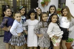 Las niñas también se apuntan al Carnaval.