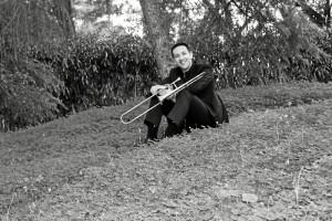 Llegó al trombó de forma casual, pero desde el principio supo que era su instrumento.