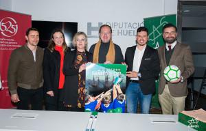 Un momento de la presentación de la Gañafote Cup que se disputará en Huelva y la provincia en abril.
