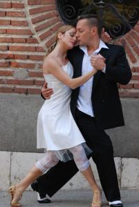 La pareja de baile Rebeca y Guillermo.