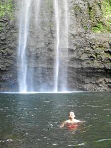 Rubén López, en la isla de Kauai, en Hawai.