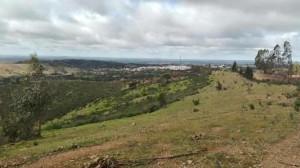 Gran belleza de los paisajes del Andévalo.
