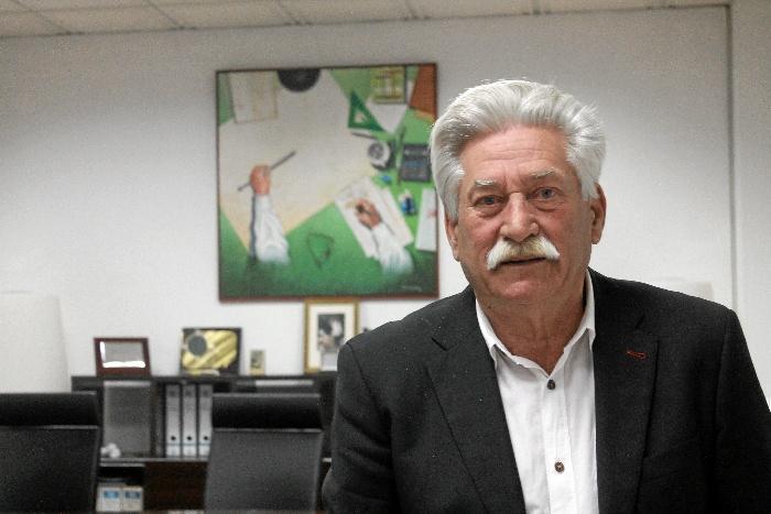 Pablo Quirós Rayego, presidente del Colegio Oficial de Aparejadores y Arquitectos Técnicos de Huelva.
