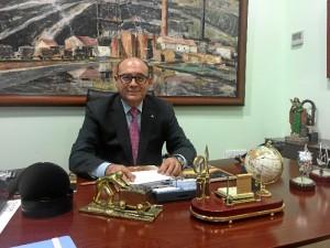José Luis Leandro es el decano-presidente del Colegio Oficial de Ingenieros Técnicos de Minas.