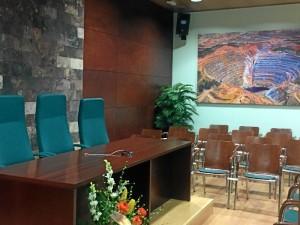El Colegio ha creado la figura del 'pre-colegiado'. / En la imagen, el salón de actos del Colegio.