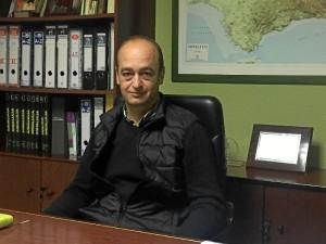 Julio Volante es el presidente de los ingenieros técnicos agrícolas onubenses.