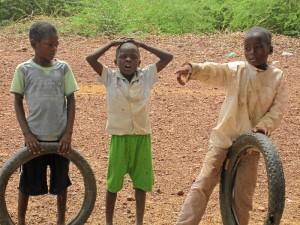 La cooperante recuerda con cariño su estancia en el país africano.