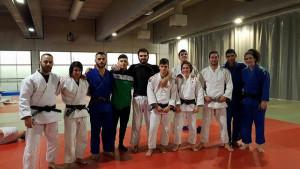 Almudena Gómez, Cinta García, Rosendo Laíno y Francisco García estuvieron en Madrid en una concentración con el equipo nacional.