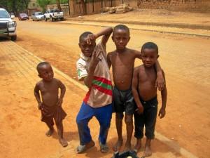 Escenas de la vida cotidiana en Niamey.