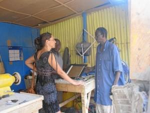 Mayte Vizcaino ha trabajado como cooperante en Niamey, capital de Níger, durante un año.