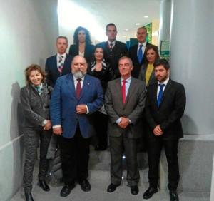 Nueva Junta de Gobierno del Colegio de Economistas de Huelva.