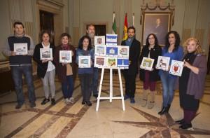 Presentación de la iniciativa en el Ayuntamiento de Huelva.
