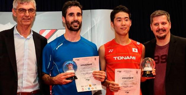 Gran segundo puesto en Austria para Pablo Abián. / Foto: www.badminton.es.