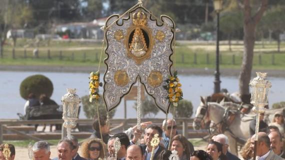 La Hermandad del Rocío de Moguer anuncia su peregrinación extraordinaria a la aldea almonteña para el próximo domingo, 12 de marzo