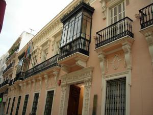 Palacio Mora Claros de la capital onubense.