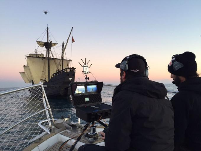 Huelva será una de las localizaciones de una nueva serie que narrará el descubrimiento y conquista de América