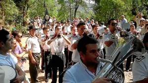 Se introdujo en la música a través de la Banda Municipal de Galaroza. / Foto: youtube.