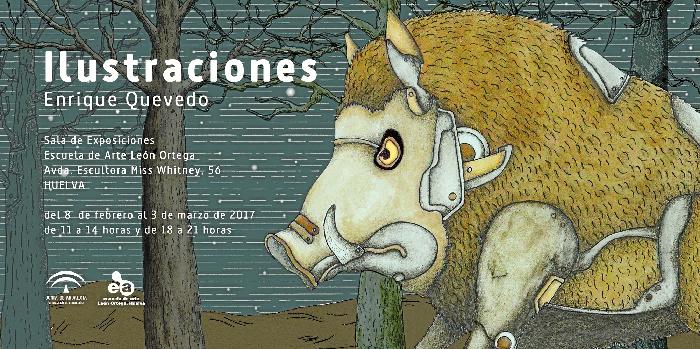 La muestra se inaugura este martes 7 de febrero a la Escuela de Arte León Ortega.