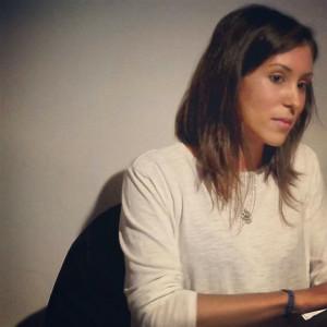 Una de las imágenes mostradas en su página de poesía, como Esther Goroez.
