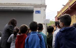 Los niños del colegio Manuel Siurot han asistido al acto.
