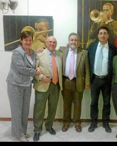 Antonio Rodríguez ha organizado numerosos actos en beneficio de Aroca en la Sociedad Cultural Casino de Rociana.