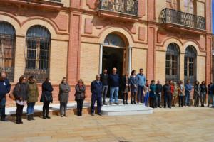 Acto en el Ayuntamiento de San Juan del Puerto.