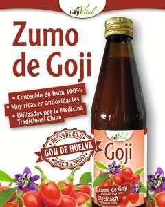 La empresa está fabricando desde hace un año zumo de goji, un producto que quieren realizar en Huelva. / Foto: Gojivital.