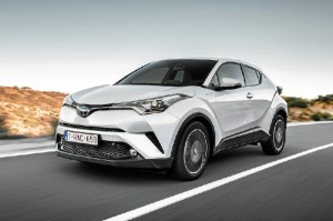 Toyota CH-R, modelo 2017.
