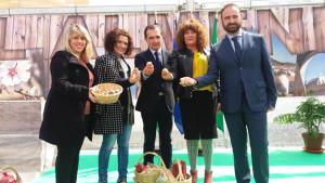 inauguracion feria gastronomica el almendro