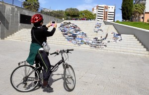 El 'Arte Urbano Gourmet' inunda las calles de Huelva.