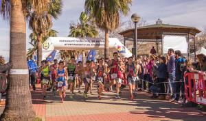 Fueron 170 participantes los que dieron brillo al II Duatlón de Menores 'Ciudad de Ayamonte'.