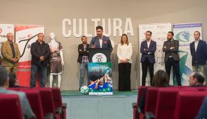 Un momento de la presentación de la I Gañafote Cup que se celebra en Huelva.