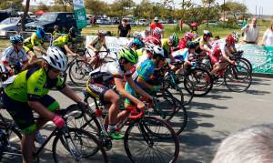Fueron casi 200 ciclistas los que se dieron cita en la prueba disputada en Bollullos.