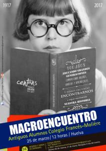 Cartel del macroencuentro.